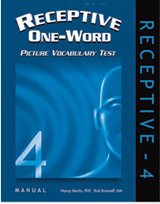 Receptive One-Word Picture Vocabulary Test (ROWPVT-4) - New Edition!