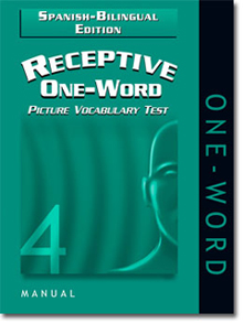 Receptive One-Word Picture Vocabulary Test (ROWPVT 4) -Spanish/Bilingual Edition-NEW