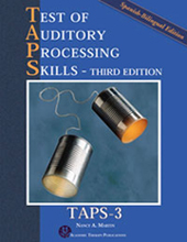 Test of Auditory Processing Skills -(TAPS-3)- Bilingual Spanish Edition
