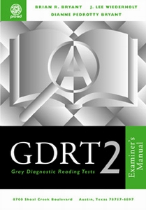 Gray Diagnostic Reading Test 2