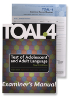 Test of Adolescent and Adult Language (TOAL-4) - COMPLETE KIT - NEW!