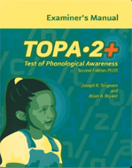 Test of Phonological Awareness PLUS (TOPA-2+)