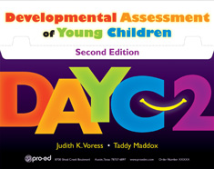 Developmental Assessment of Young Children (DAYC) - 2nd ed. COMPLETE KIT- New!
