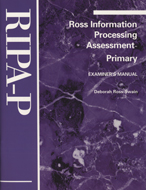 Ross Information Processing Assessment - Primary (RIPA-P) - COMPLETE KIT