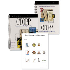 Comprehensive Test of Phonological Processing (CTOPP-2)- COMPLETE KIT
