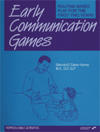 Early Communication Games