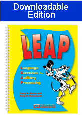 Language Exercises for Auditory Processing (LEAP) - Downloadable Edition