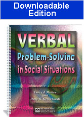 Verbal Problem-Solving in Social Situations (Downloadable Edition)