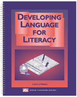 Developing Language for Literacy