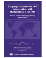 Language Assessment and Intervention with Multicultural Students
