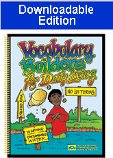 Vocabulary Builders for Daily Living (Downloadable Edition)