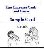 Sign Language Cards and Games
