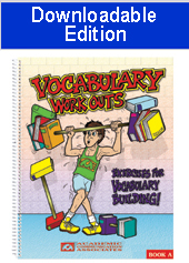 Vocabulary Workouts: Exercises for Vocabulary Building (Downloadable Edition)