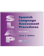Spanish Language Assessment Procedures - 3rd Edition-includes 30 ea of 2 forms