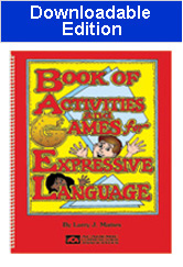 Book of Activities and Games for Expressive Language (BAGEL) - Downloadable Edition