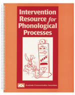 Intervention Resource for Phonological Processes