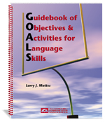 Guidebook of Objectives and Activities for Language Skills (GOALS)