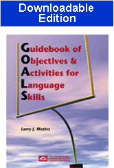 Guidebook of Objectives and Activities for Language Skills  (Downloadable Edition)