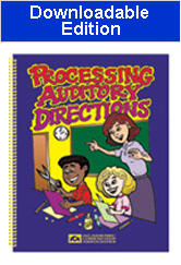 Processing Auditory Directions (Downloadable Edition)