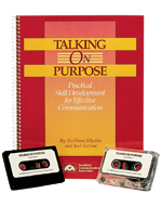 Talking on Purpose - Save $10.00 now!