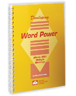 Developing Word Power - Antonyms