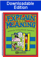 Explain the Meaning (Downloadable Edition)
