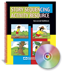 Story Sequencing Activity Resource - Book and CD