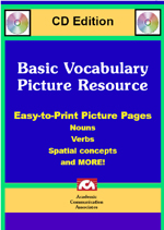 Basic Vocabulary Picture Resource CD