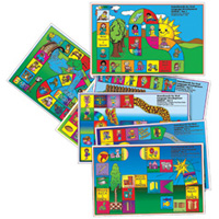 Gameboards for Oral Language Development - Set 1