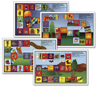 Gameboards for Oral Language Development - Set 2