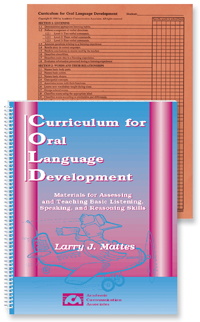 Curriculum for Oral Language Development - COMPLETE KIT with Profile Cards