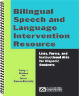 Bilingual Speech and Language Intervention Resource