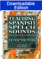 Teaching Spanish Speech Sounds (Downloadable Edition)