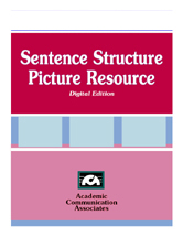 Sentence Structure Picture Resource CD