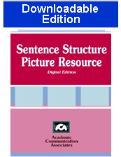Sentence Structure Picture Resource (Downloadable Edition)