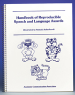 Handbook of Reproducible Speech and Language Awards - Special!