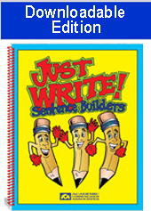 Just Write Sentence Builders (Downloadable Edition)