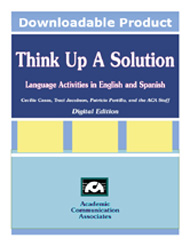 Think Up A Solution CD - English and Spanish