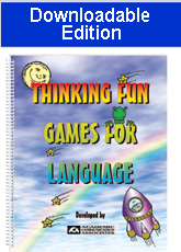 Thinking Fun Games for Language (Downloadable Edition)