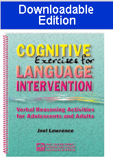 Cognitive Exercises for Language Intervention (Downloadable Edition)