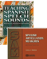 Spanish Articulation Measures (SAM) PLUS Teaching Spanish Speech Sounds - Save $5.00