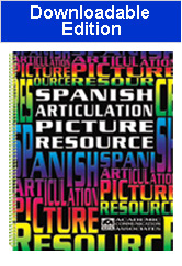 Spanish Articulation Picture Resource (Downloadable Edition)