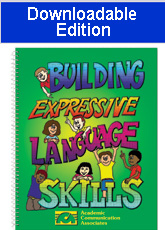 Building Expressive Language Skills (Downloadable Edition)