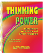 Thinking Power: Exercises for Vocabulary and Verbal Reasoning