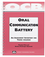 Oral Communication Battery (OCB): An Assessment Inventory for Young Children