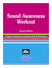 Sound Awareness Workout CD - New 2013 Edition!