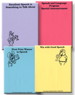 Speech Note Pads