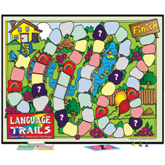 Language Trails-Primary: Games for Promoting Effective Communication Skills-Save!
