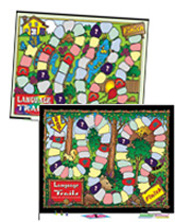 Language Trails-Both Games (Primary and Intermediate)-Special price $46.00!
