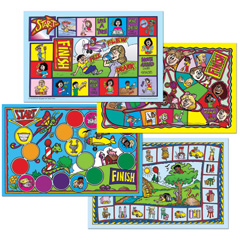 Fun Games for Oral Language Development (FUNGOLD) - All Four Games